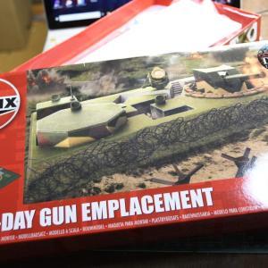 D-DAY GUN EMPLACEMENT(1/72) 到着