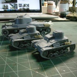 WW2 1/72日本戦車を作る