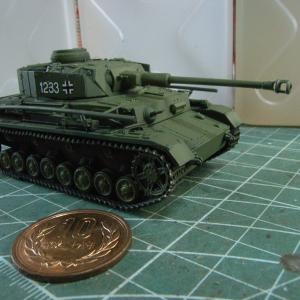 緑のIV号戦車J型'(最終後期型)1/72を作る