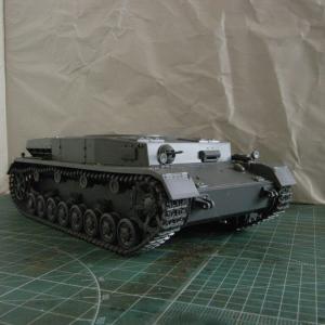 タミヤの新製品IV号戦車F型を作る、第8工程に注意!
