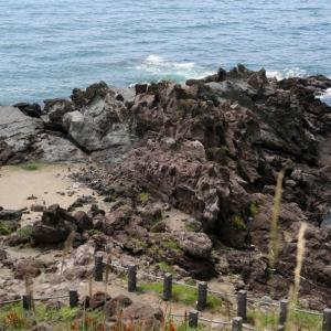 十六羅漢岩(山形県飽海郡遊佐町)