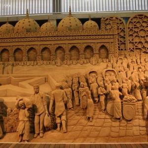 砂の美術館 その2(鳥取県鳥取市福部町湯山)