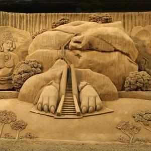 砂の美術館  最終回(鳥取県鳥取市福部町湯山)