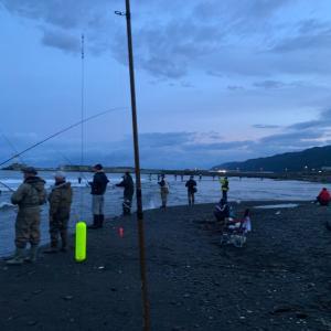 厚田 ③鮭釣り