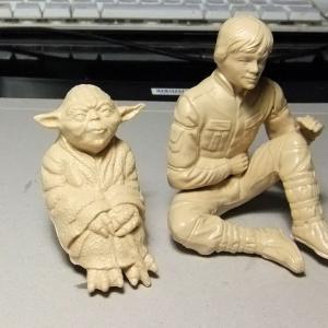 「ダゴバの出会い…with Yoda.」by mpc 製作 Epi.1