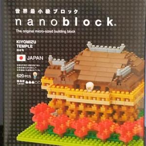 ナノブロック商品「清水寺」