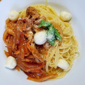 昨日の昼御飯「スパゲティー」