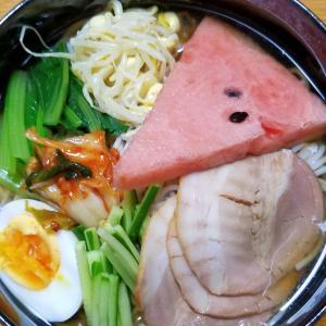 昨日の昼御飯「冷麺」