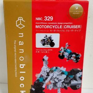 ナノブロック商品「モーターサイクル クルーザータイプ」