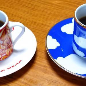デミタスコーヒーカップが手に入りました