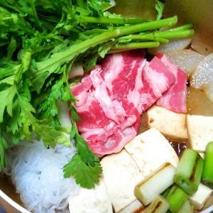 昨日の晩御飯「すき焼」