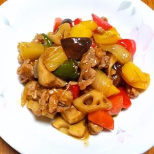 昨日の晩御飯「パイナップルの炒め物」