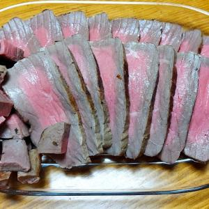 今日の晩御飯「ローストビーフ」