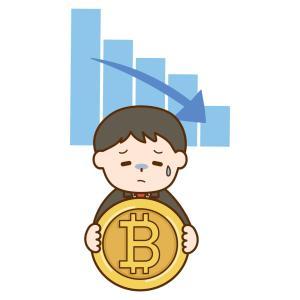 ビットコインは最高値の半額、祭りは終わったか
