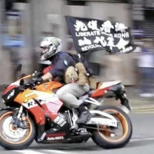 変わる香港の風景、自由を口にしただけで懲役9年