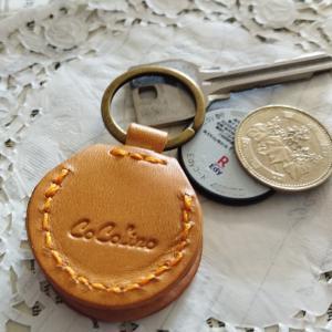 コインが入るキーホルダー
