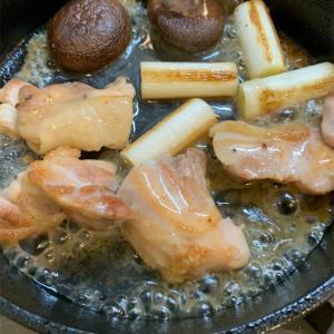 熱々のスキレット料理