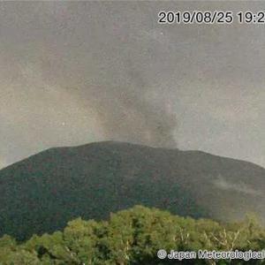 浅間山が小規模噴火