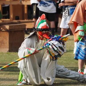 今年の「お熊甲祭」神事のみで、来年こそ盛大に!