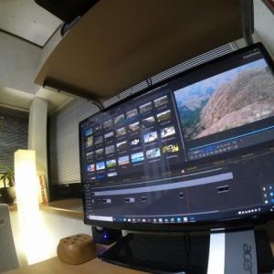 創楽 富山県の山 二子山ドローン4K映像 DJI Mavic Air Mountain drone picture