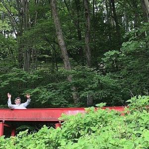横瀬農村公園で滑る絵描き