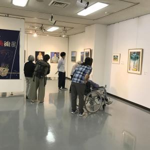 こだいら平和美術展26th始まりました。