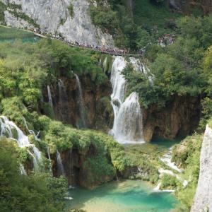 """野村不動産の""""PROUD""""のCM.クロアチア『プリトヴィツェ湖群国立公園』"""