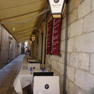 クロアチアのドゥブロヴニク老舗レストランPROTO