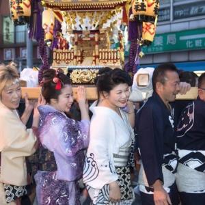 去年の吉原神社のお祭り❣️