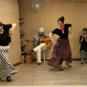 歌で踊るフラメンコ❣️