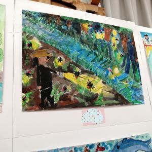 絵の展示会