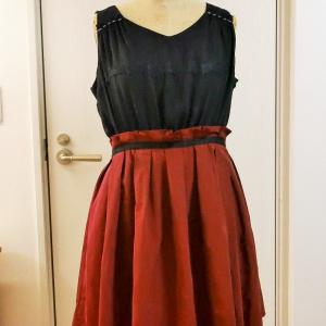 買ったドレスを分解してみる