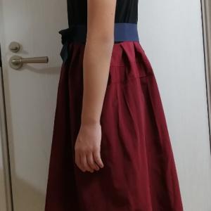 ピアノコンクールで着るドレスの完成!!