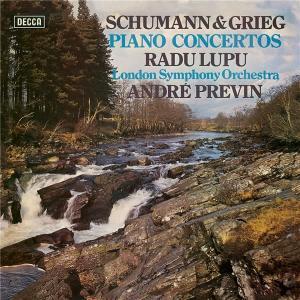 ハイレゾ配信で聴く ラドゥ・ルプー (P)  シューマン・グリーク ピアノ協奏曲
