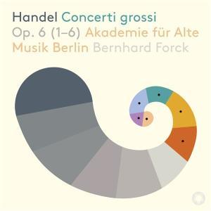 ハイレゾ配信で聴く  ヘンデル 合奏協奏曲  ベルリン古楽アカデミー