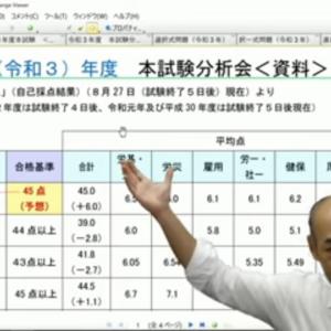 【実は択一式〇〇点?】クレアールの2021(令和3)年度社労士試験本試験分析会を再分析した仮説!