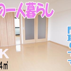 おしゃれなインテリア部屋 一人暮らし 1DK賃貸マンション 岡山市