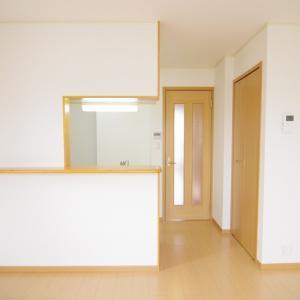 かわいい一人暮らし部屋 風通しのいい間取り   1LDK賃貸アパート 岡山市中区さい東町
