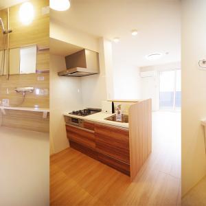 オシャレな一人暮らし部屋 新築 1LDK賃貸物件 アパート 岡山市中区清水