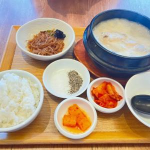 参鶏湯を食べにイオン岡山へ
