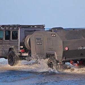 Bruder EXP-4 off-road expedition trailer.