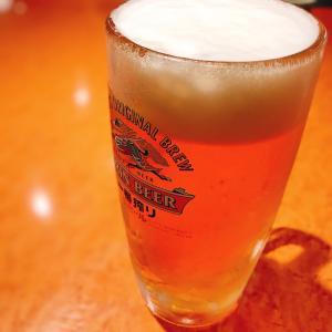 ビールが飲みたい夜です。