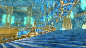 クリスタルタワーは青い!