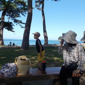 孫の希望で和歌山県・友ヶ島に行きました!