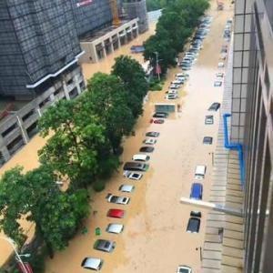 上海・武漢が水浸し