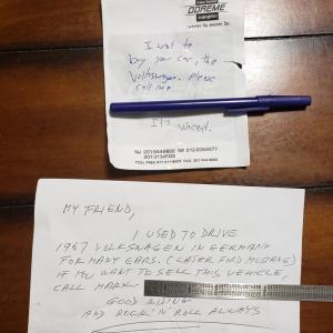 知らない人からの手紙