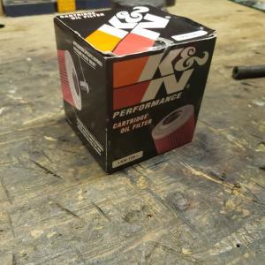 KZ オイルフィルター買いました。