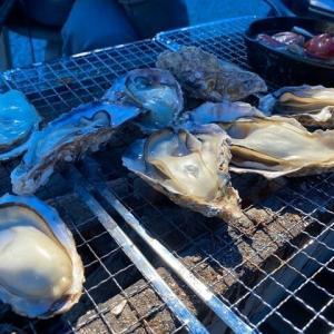 今年も、行ってきました!日生、「五味の市」、「海の駅 しおじ」で「焼き牡蠣&BBQ!」
