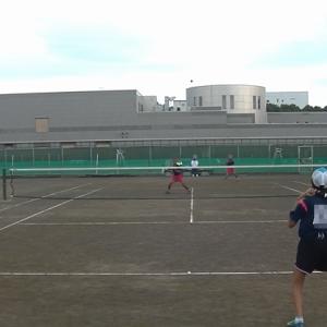 8/31 平塚市中学校ソフトテニス選手権大会