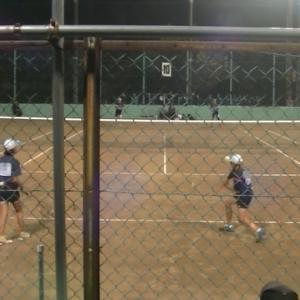 11/2 神奈川県中学校ソフトテニス選手権大会女子個人決勝戦